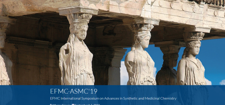 ΕΚΔΗΛΩΣΗ ΕΝΔΙΑΦΕΡΟΝΤΟΣ | VIII EFMC International Symposium on Advances in Synthetic and Medicinal Chemistry (EFMC-ASMC'19)